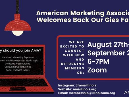 AMA Info Night Tonight!