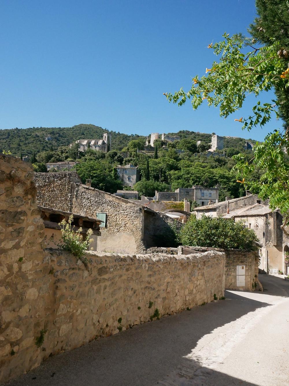 Vue sur le village médiéval