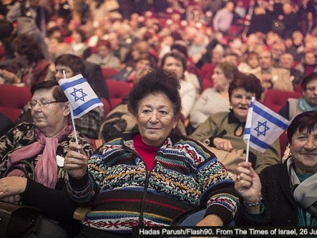 Integration of Former Soviet Union Immigrants Into Israeli Society
