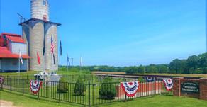Veterans Memorial in Irvington