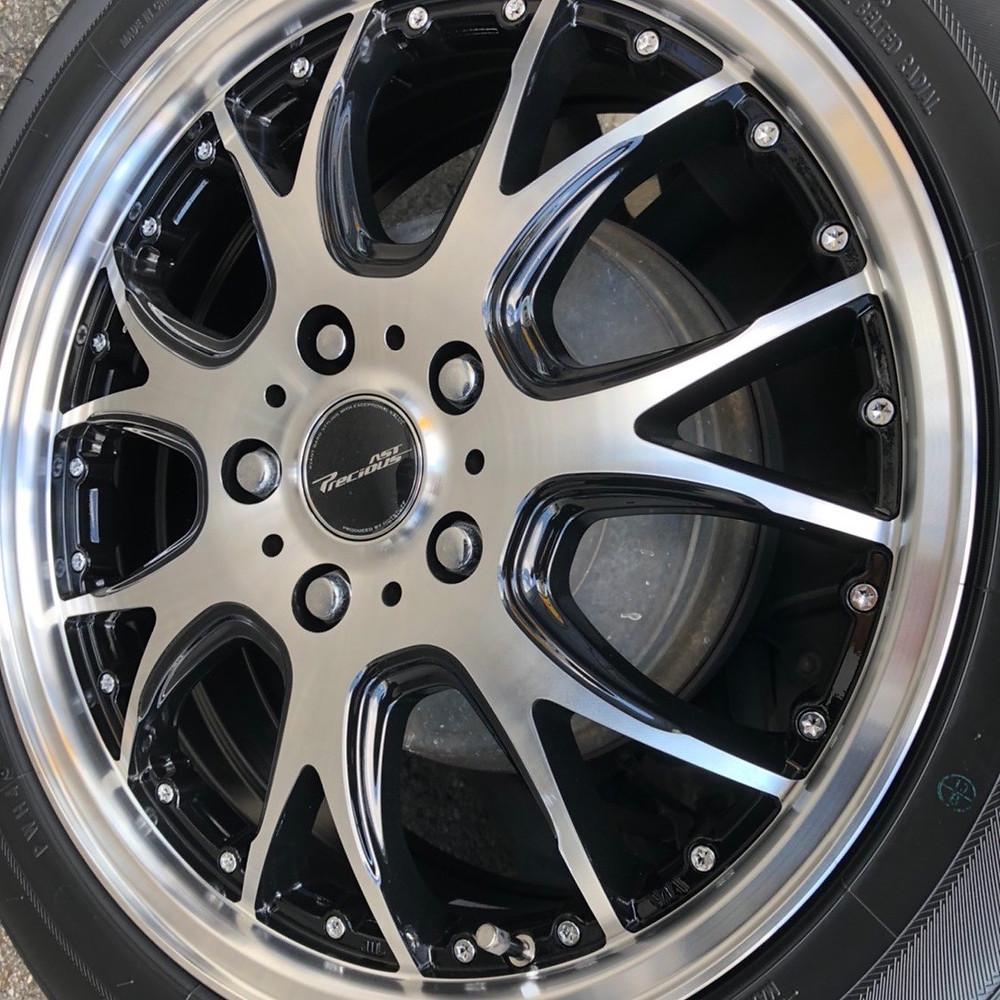 トヨタ ノア 60系 ホットスタッフ プレシャス アストM2 17インチ 6.5J 社外アルミ ミニバン トーヨータイヤ SD-7
