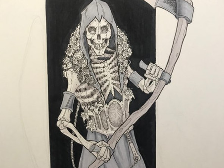 Inktober Remembered: YOU MADE IT!