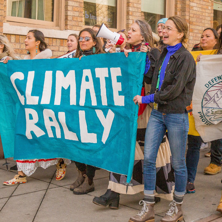 The Climate Rally In Denver