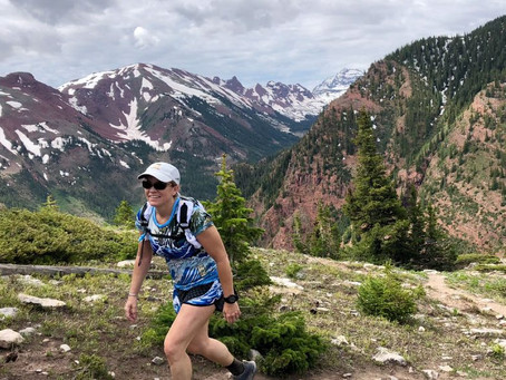 Walking doesn't make you less of a trail runner.