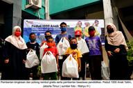 Donasi Peduli 1000 Anak Yatim