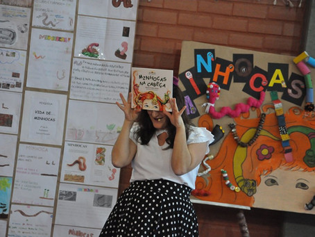 Márcia Funke Dieter no Colégio Evangélico Divino Mestre