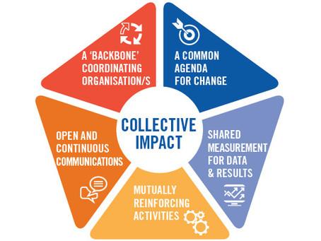 """Le """"Collective Impact"""" : une inspiration pour  la résolution des défis territoriaux"""