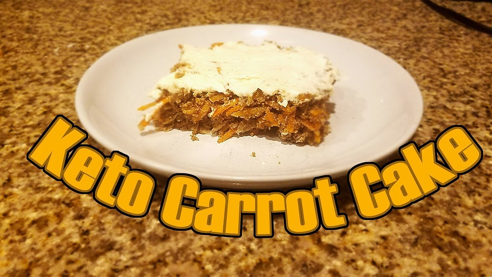 keto carrot cake recipe