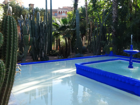 Dreams in Majorelle Blue