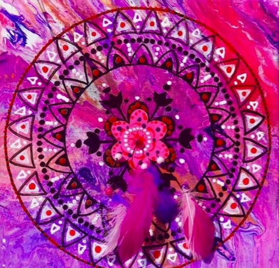 Le mandala, exemple de loisirs créatifs, a de nombreux bienfaits