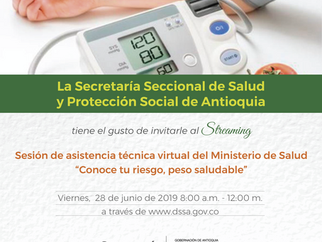 Invitación especial, conferencia vía streaming