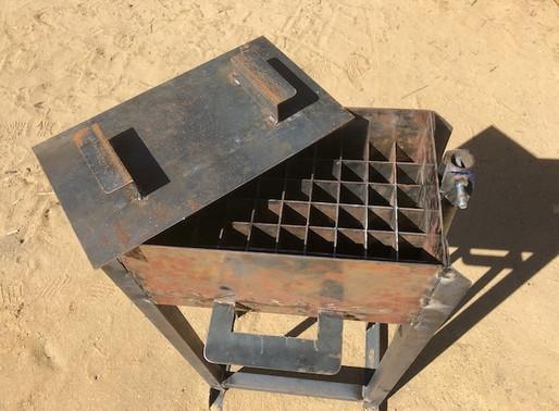 la machine à briquettes