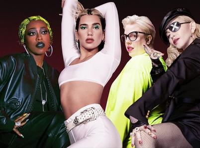 """Dua Lipa Lanza el Videoclip de """"Levitating"""" (Remix) Junto a  Missy Elliot y Madonna"""