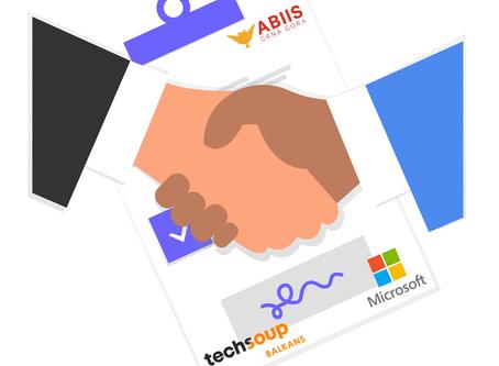 ABIIS - CG u partnerstvu sa Microsoft i TechSoup Balkans