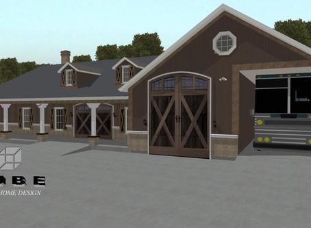 #Barndominium House Plan-BRN-05