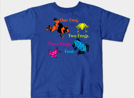 One Frog, Two Frogs, Three Frogs, Four