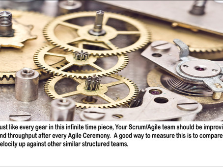 What does this vintage time piece and Agile have in common?