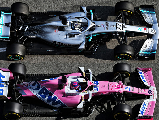 【F1抄功課風波】淺談粉紅Mercedes事件|細數歷年F1抄襲事例