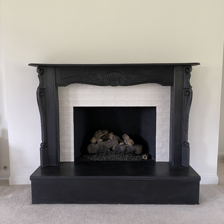 FIRE PLACE MAKEOVER