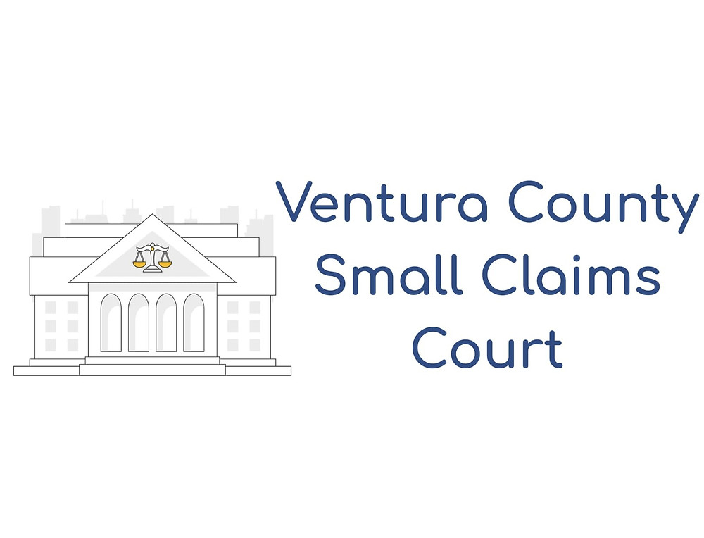 How to file a small claims lawsuit in Ventura County Small Claims Court