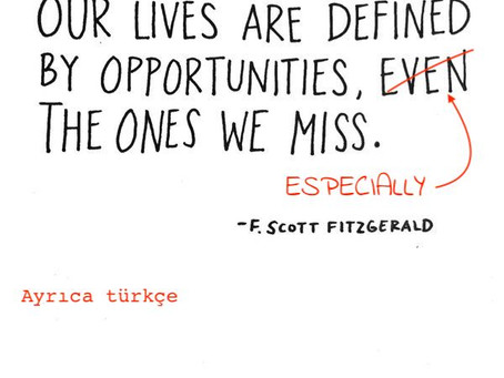 Lost Opportunities - for better relationships - for a better life.