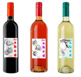 Jam Shed Wine Rebrand