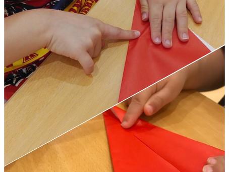 折り紙製作🔖🖍