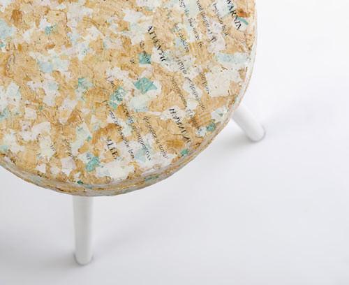 Zero Waste Design   recycled plastic bags   Kulla   Design Milk   Design w Care