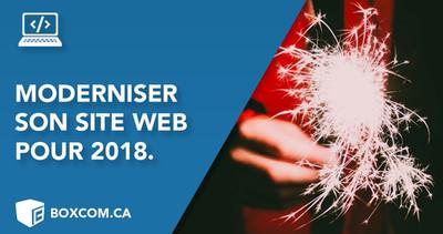Des astuces pour moderniser votre site, design et application 2018.