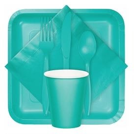 TEAL LAGOON PARTY SUPPLIES  15% OFF thru August 2020