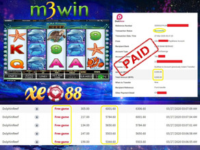 Dolphin Reef slot game tips to win RM6000 in XE88