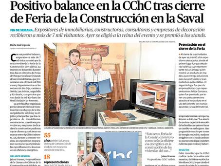 Publicación Diario Austral de Valdivia