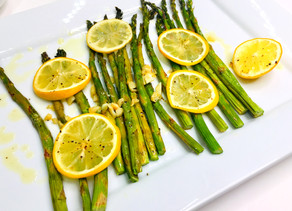 Gluten Free Asparagus with Garlic and Lemons