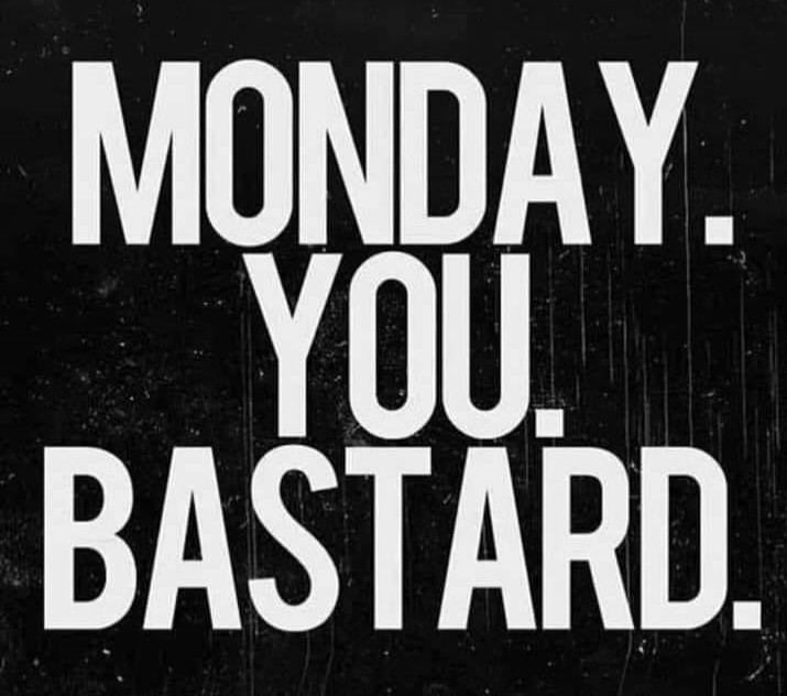Monday You Bastard Meme