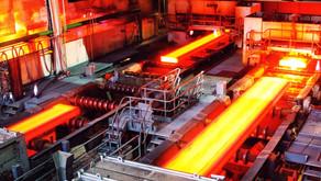 Global steel production increasing steadily