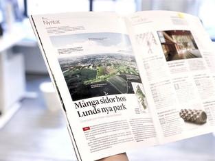 Knowledge Park published in Arkitekten