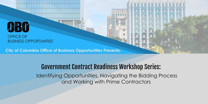 Government Contract Readiness Workshop Series