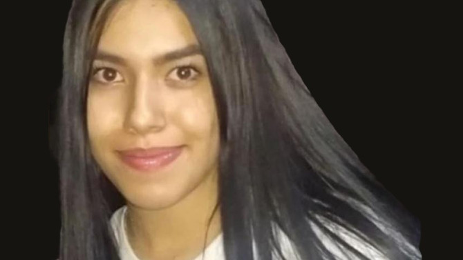 Mensaje sobre la desaparición de Ana Lucia