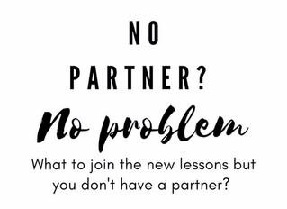 No partner? No Problem!