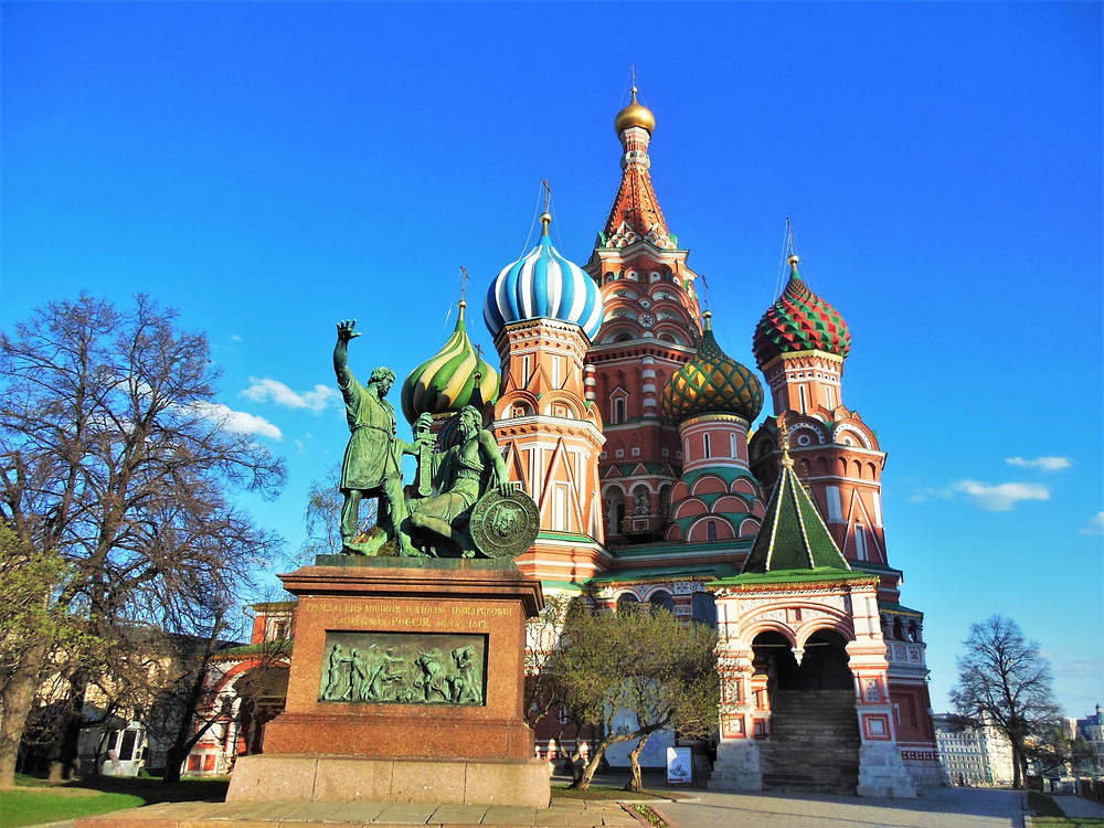 Saint Basil's Cathedral, Moscow, Russia, affluent society