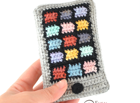 Smartphone Free Crochet Pattern
