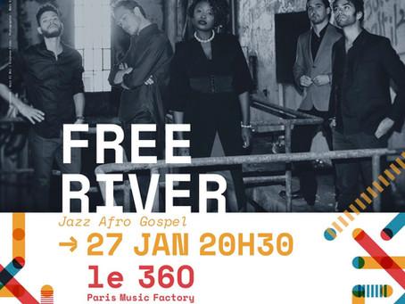 FREE RIVER en concert au Festival des voix le 27/01