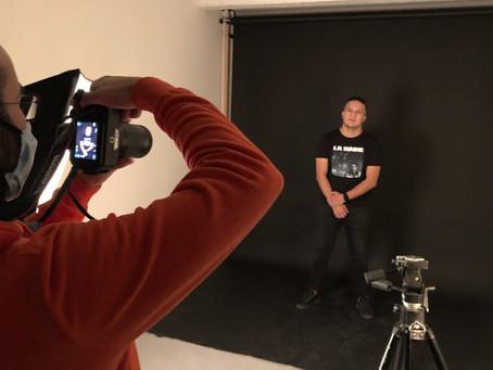 Shooting photo studio au Cowork Studio Lyon pour Sébastien