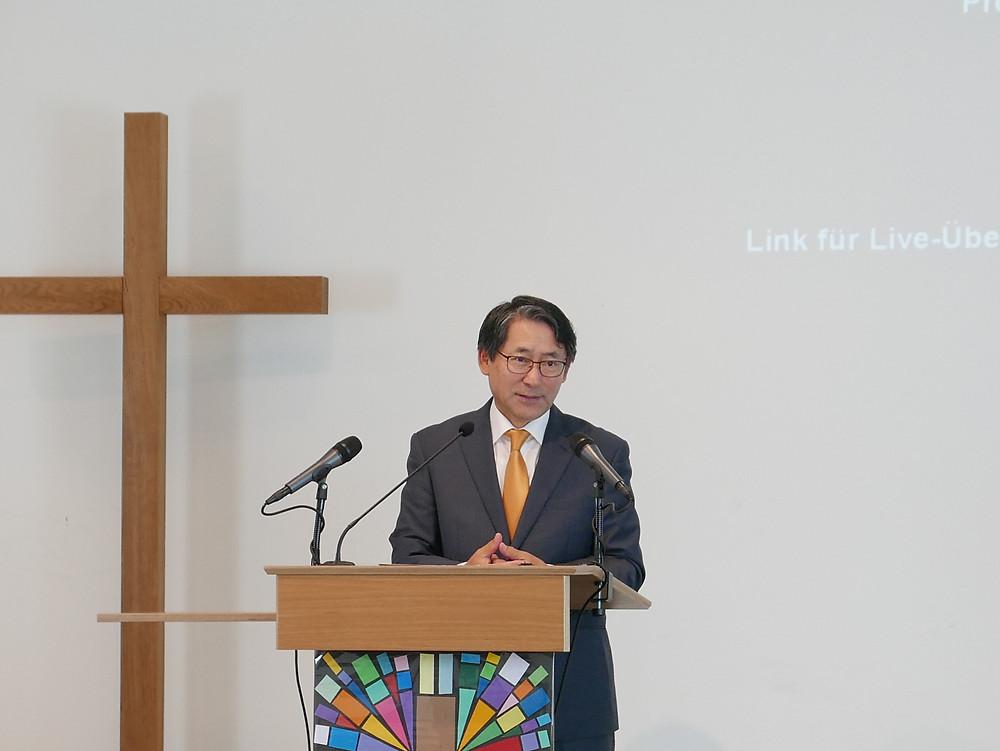 Internationale Freikirche Köln / Christliche Gemeinde Köln / Pastor Na | 독일 쾰른 국제 다민족 한인교회 / 나승필 목사 선교사