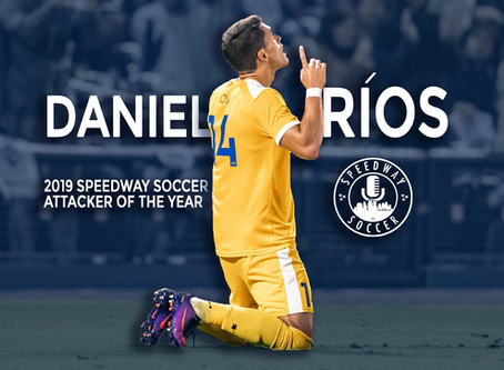 Daniel Ríos Named 2019 Speedway Soccer Attacker Of The Year