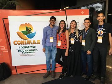 Participação no I Congresso Internacional de Meio Ambiente e Sociedade e III Congresso Internacional