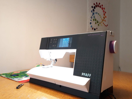 Review Pfaff Quilt Expression 720 - Quilter´s delight
