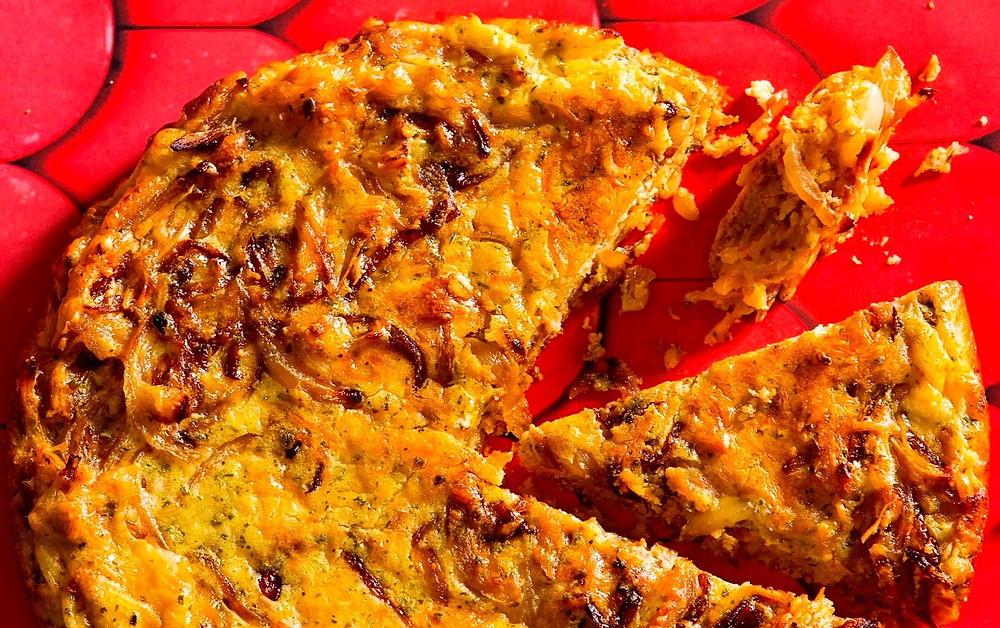 svogūnų pyragas, Alfo receptas