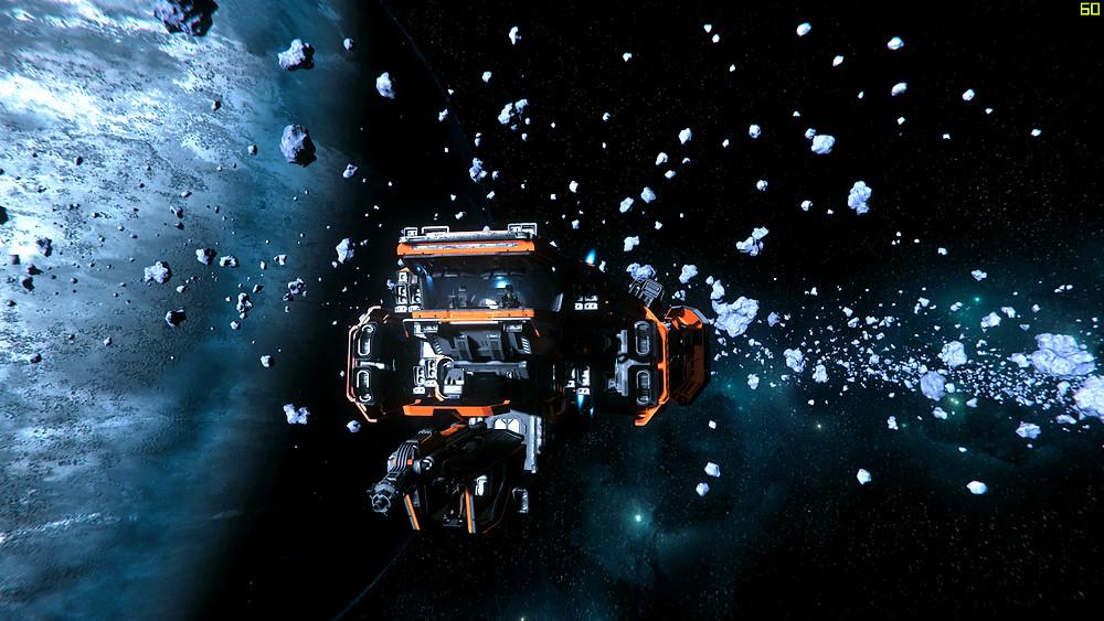 Snaul and Nat at Yela asteroid belt