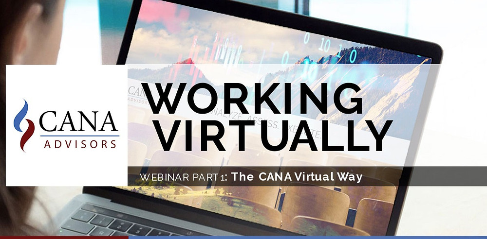 Working Virtually webinar series part 1